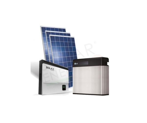 Kit Fotovoltaici per accumulo 3 kW 4 kW 5 kW 6 kW