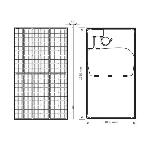 Solaredge SPV375-R60DWMG