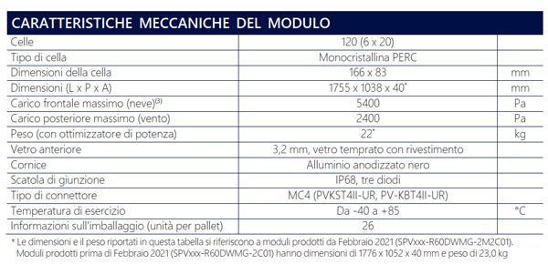 Solaredge SPV375-R60DWMG - Modulo fotovoltaico con ottimizzatore integrato