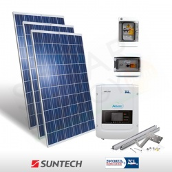 KIT FOTOVOLTAICO 5 KW SUNTECH - ZCS (COMPLETO)