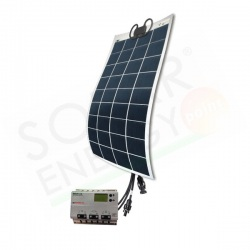 GIOCOSOLUTIONS EASY SOLUTIONS KN 80P Q - KIT FOTOVOLTAICO CAMPER/NAUTICA 80 W