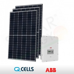 KIT FOTOVOLTAICO 3 kWp Q-CELLS - ABB