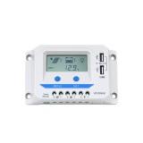 EP SOLAR VIEWSTAR VS1024AU - REGOLATORE DI CARICA PWM 10A 12-24V USB CON DISPLAY LCD