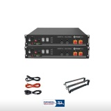 KIT BATTERIE PYLONTECH US2000 4.8 KWH PLUS STAFFE ZCS E CAVI