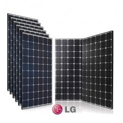 SET 9 MODULI FOTOVOLTAICI LG NEON2 350N1CV5 - MONOCRISTALLINI 350 W TOT. 3 KW