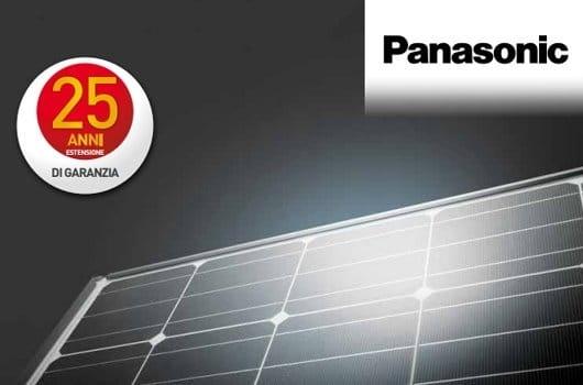 Panasonic Garanzia 25 Anni