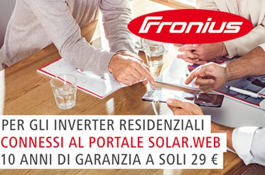 Garanzia Inverter Fronius