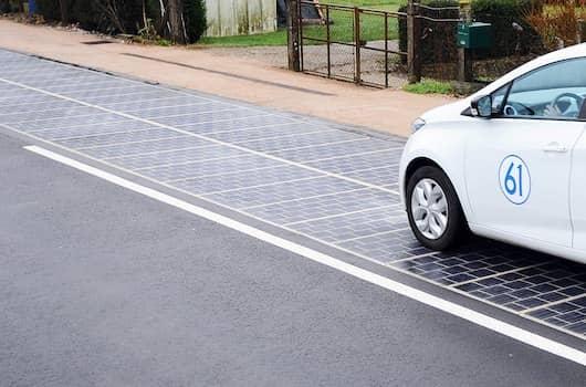 Francia, inaugurata la prima strada solare